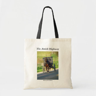 The Amish Highway Budget Tote Bag