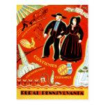 The Amish & Rural Pennsylvania Postcard