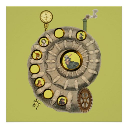 The Ammonite Abode Poster