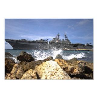 The amphibious assault ship USS Kearsarge Photographic Print
