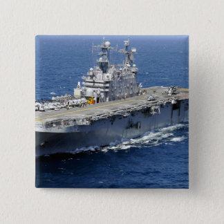 The amphibious assault ship USS Peleliu Button
