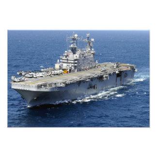 The amphibious assault ship USS Peleliu Photo Print