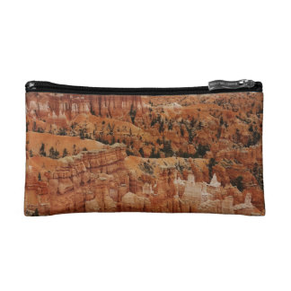 The Amphitheater from the rim at Bryce point at Br Cosmetic Bag