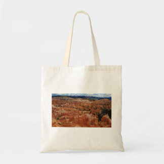 The Amphitheater from the rim at Bryce point at Br Tote Bag