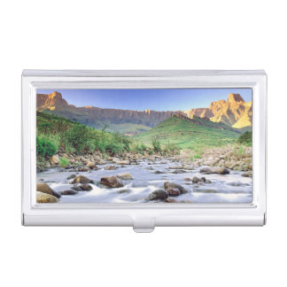The Amphitheatre And Tugela River In Drakensberg Case For Business Cards