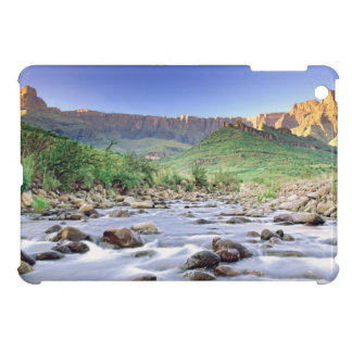 The Amphitheatre And Tugela River In Drakensberg iPad Mini Cover