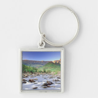 The Amphitheatre And Tugela River In Drakensberg Keychain