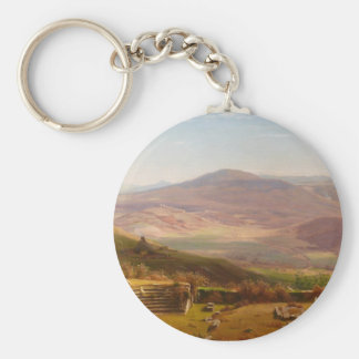The Amphitheatre of Tusculum and Albano Mountains Keychain