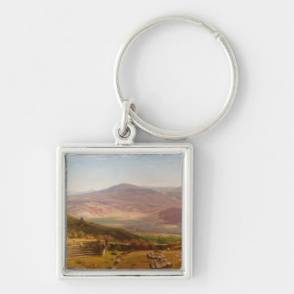 The Amphitheatre of Tusculum and Albano Mountains Keychains