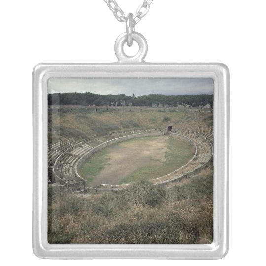 The Amphitheatre Silver Plated Necklace
