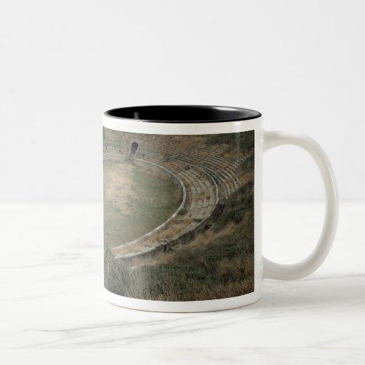 The Amphitheatre Two-Tone Coffee Mug