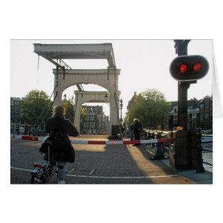 The Amsterdam Magere Brug (Skinny Bridge) Card