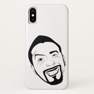 The amused Koksmann... iPhone X Case