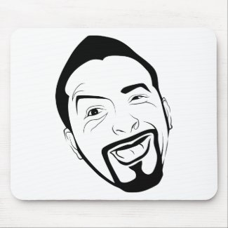The amused Koksmann Mousepad