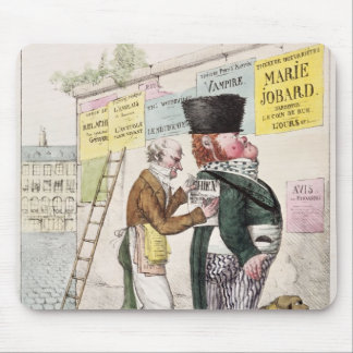 The Amusement of a Bill Sticker, 1820 Mouse Pad