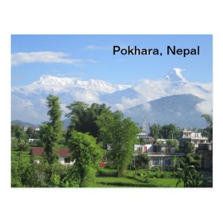 The Anapurnas from Pokhara Post Cards