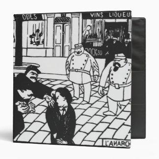 The Anarchist, 1892 3 Ring Binder
