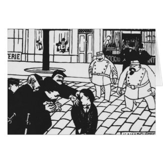 The Anarchist, 1892 Card