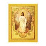 The Anastasis - Christ is risen! Stretched Canvas Print