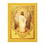 The Anastasis - Christ is risen! Canvas Prints