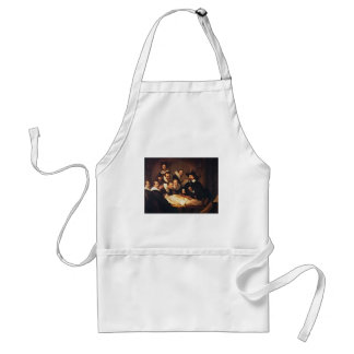 The Anatomy Lecture by Rembrandt Adult Apron