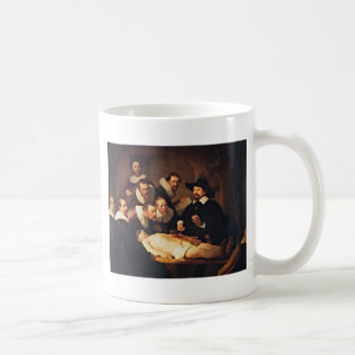 The Anatomy Lecture by Rembrandt Coffee Mug