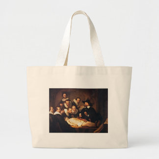 The Anatomy Lecture by Rembrandt Large Tote Bag