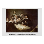 The Anatomy Lesson By Rembrandt Van Rijn Posters