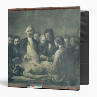 The Anatomy Lesson of Doctor Velpeau 3 Ring Binders