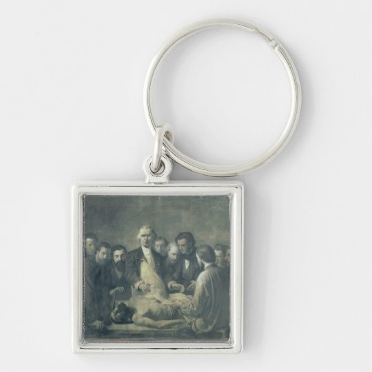 The Anatomy Lesson of Doctor Velpeau Keychain