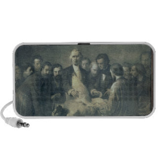 The Anatomy Lesson of Doctor Velpeau Portable Speakers