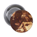 The Anatomy Lesson Of Dr. Joan Deyman. By Rembrand Pinback Buttons