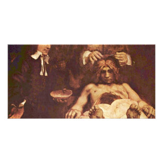 The Anatomy Lesson Of Dr. Joan Deyman. By Rembrand Card