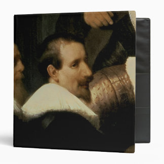 The Anatomy Lesson of Dr. Nicolaes Tulp, 1632 3 Ring Binder