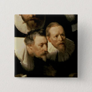 The Anatomy Lesson of Dr. Nicolaes Tulp, 1632 Pinback Button