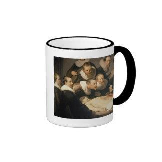The Anatomy Lesson of Dr. Nicolaes Tulp, 1632 Ringer Mug