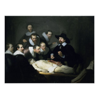 The Anatomy Lesson of Dr. Nicolaes Tulp Poster
