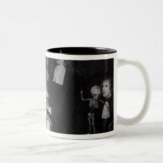 The Anatomy Lesson of Professor Frederik Two-Tone Coffee Mug