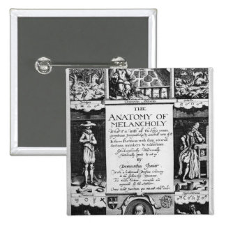 The Anatomy of Melancholy Pinback Button