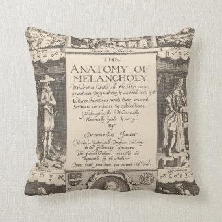 The Anatomy of Melancholy Throw Pillow