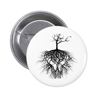 The ancestors got you! pinback button
