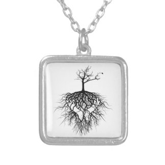 The ancestors got you! silver plated necklace