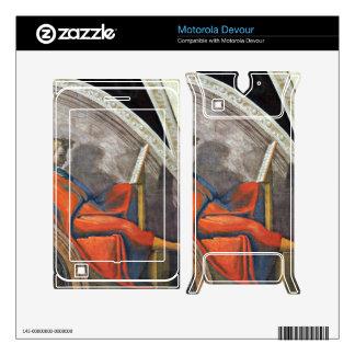 The ancestors of Christ 2 by Michelangelo Skin For Motorola Devour