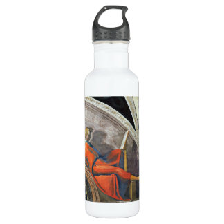 The ancestors of Christ 2 by Michelangelo Water Bottle