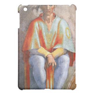The ancestors of Christ - Aminadab by Michelangelo iPad Mini Case