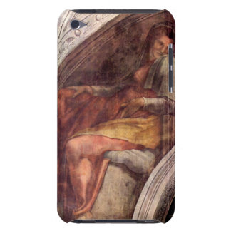 The ancestors of Christ by Michelangelo iPod Touch Case-Mate Case