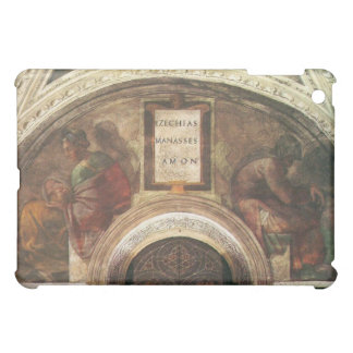The ancestors of Christ by Michelangelo iPad Mini Cases