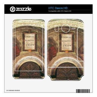 The ancestors of Christ by Michelangelo HTC Desire HD Decals