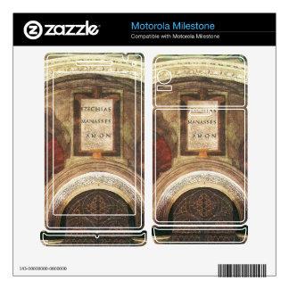 The ancestors of Christ by Michelangelo Motorola Milestone Skins