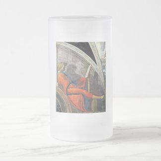 The ancestors of Christ - David 16 Oz Frosted Glass Beer Mug
